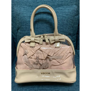 トッカ(TOCCA)のTOCCA トッカ バッグ 巾着付 直営店購入(ハンドバッグ)