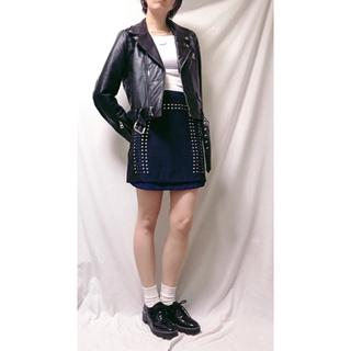 トーガ(TOGA)のビジュースカート 台形 ビジュー オキラク(ミニスカート)