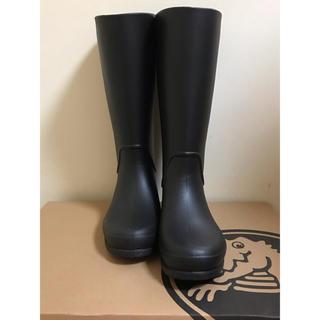 crocs - [クロックス] レインシューズ RainFloe Tall Boot レディース