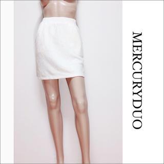 MERCURYDUO - MERCURY DUO レース スカート♡ロイヤルパーティー DURAS
