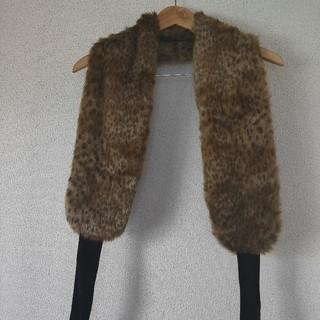 ツモリチサト(TSUMORI CHISATO)の【美品】ツモリチサト ファーマフラー (マフラー/ショール)