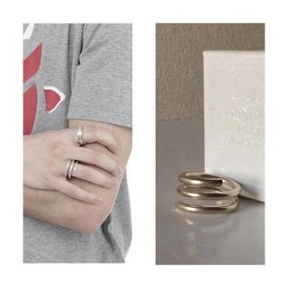 マルタンマルジェラ(Maison Martin Margiela)のマルジェラ リング M 新品 コイルリング シルバー925 margiela(リング(指輪))