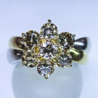 再値下げ※天然ダイヤモンド1.00ctデザインリング(指輪)(リング(指輪))