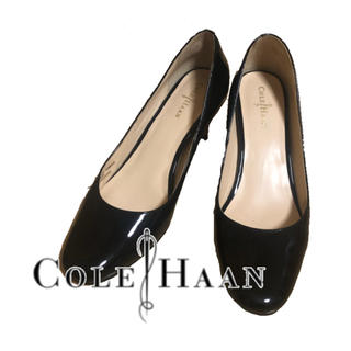 Cole Haan - 【Cole Haan】エナメルパンプス 黒