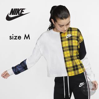 NIKE - 【新品/Mサイズ】ナイキ NSW ウィメンズ ロングスリーブ 長袖 Tシャツ