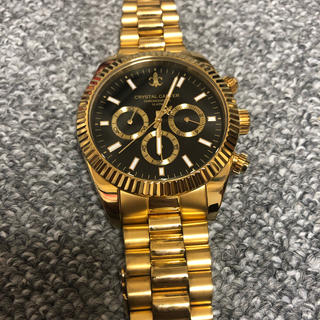 アヴァランチ(AVALANCHE)のavalanche クリスタル カーター 時計(腕時計(アナログ))