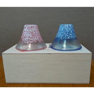 トウヨウササキガラス(東洋佐々木ガラス)の【未使用品】ペア冷酒杯(グラス/カップ)