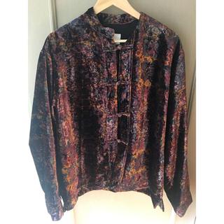 トーガ(TOGA)のTOGA VIRILIS 19AW Velvet print shirt トーガ(シャツ)