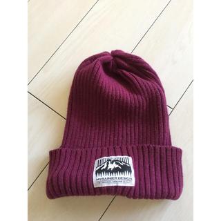 ハイスタンダード(HIGH!STANDARD)のマウントレーニア ニット帽(ニット帽/ビーニー)