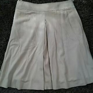 ロエベ(LOEWE)のLOEWE ラム革膝丈スカート(ひざ丈スカート)