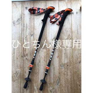 レキ(LEKI)のLEKIトレッキングポール 2本組 「カーボン  TI  AS」(登山用品)