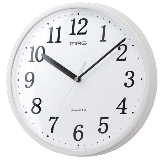プラスチッタ W-701 掛け時計 インテリア/住まい/日用品のインテリア小物(掛時計/柱時計)の商品写真