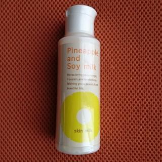 【新品、未開封】パイナップル、豆乳スキンミルク 100ml(化粧水/ローション)