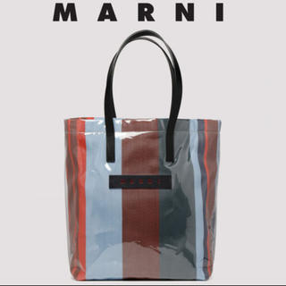 マルニ(Marni)のマルニ  MARNI PVCトートバッグ glossy grip market(トートバッグ)