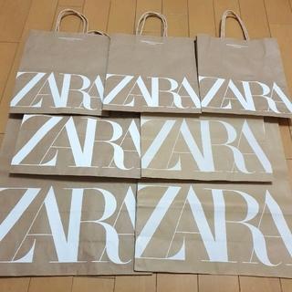 ザラ(ZARA)のザラ ショッパー 7枚セット(ショップ袋)