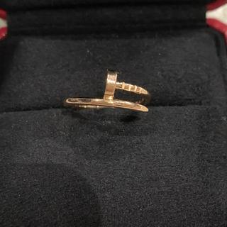 カルティエ(Cartier)のカルティエ ジュストアンクル 9号 美品(リング(指輪))