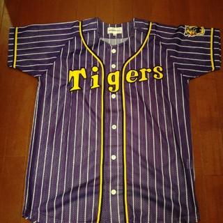 ハンシンタイガース(阪神タイガース)の阪神タイガース ユニフォーム パープル Mサイズ(ウェア)