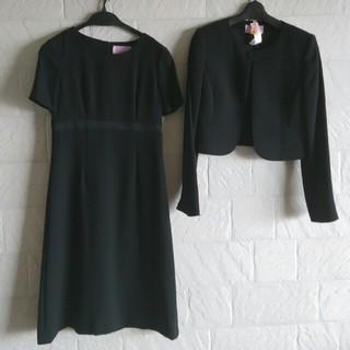 アールユー(RU)のブラックフォーマル ワンピースセットアップ(礼服/喪服)