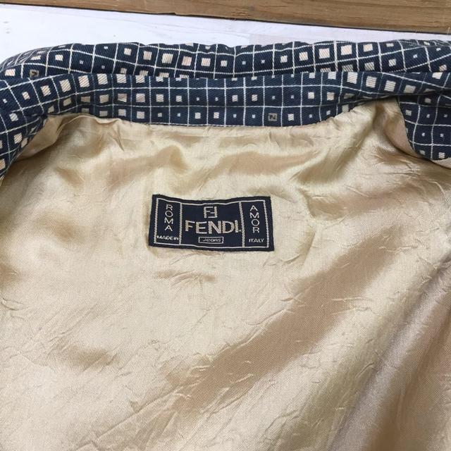 FENDI(フェンディ)のFENDI フェンディ レディース コート サイズ38(M) レディースのジャケット/アウター(ロングコート)の商品写真