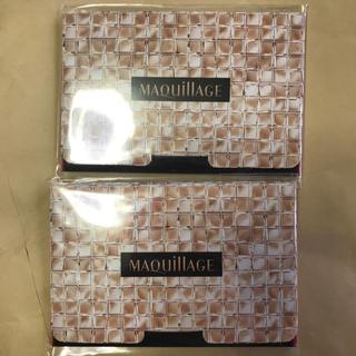 マキアージュ(MAQuillAGE)のマキアージュ あぶらとり紙 2セット 新品(あぶらとり紙)