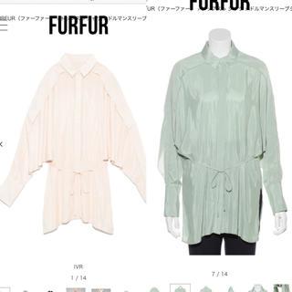 ファーファー(fur fur)の新品未使用 ファーファー ドルマンスリーブシャツ(シャツ/ブラウス(長袖/七分))