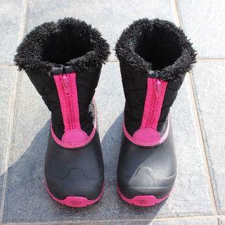 スノーブーツ 防寒靴 キッズ ジュニア 8VP132001-KD ビジョンピーク(ブーツ)