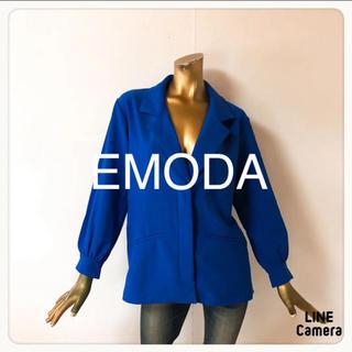 エモダ(EMODA)の☘T2142☘EMODA テーラード風 ジャケット F(テーラードジャケット)