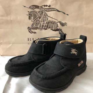 バーバリー(BURBERRY)のバーバリー ショートブーツ 18.0センチ(ブーツ)