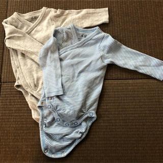 エイチアンドエム(H&M)のH&M 新生児 肌着(肌着/下着)