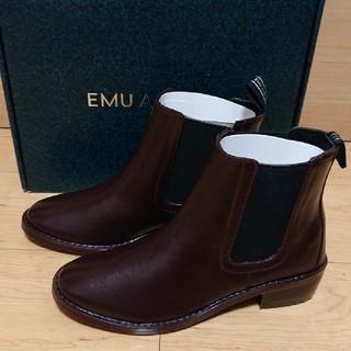 エミュー(EMU)の新品 EMU Ellin Rainboot シープスキン レインブーツ us6(レインブーツ/長靴)