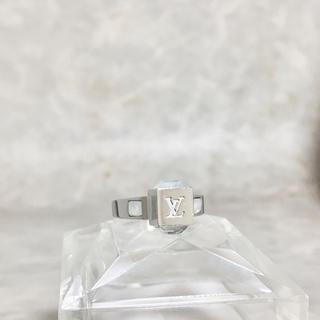 ルイヴィトン(LOUIS VUITTON)の正規品 ヴィトン 指輪 ギャンブル ストーン シルバー 銀 クリスタル リング(リング(指輪))