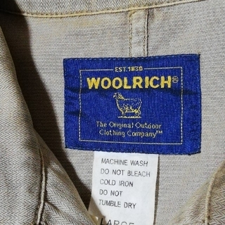 ウールリッチ(WOOLRICH)の☆1.000円均一セール開催中❗ウールリッチジャケット Lサイズ(ブルゾン)