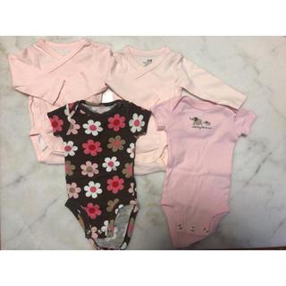 エイチアンドエム(H&M)の新生児 ベビー 肌着7枚セット(肌着/下着)