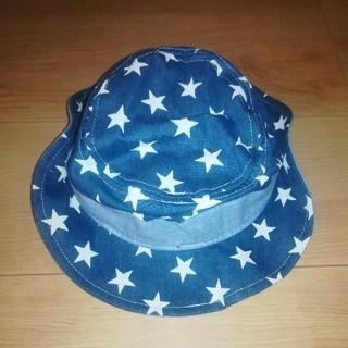 星柄の帽子 48cm 未使用(帽子)