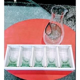東洋佐々木ガラス - 【新品未使用】佐々木硝子 冷酒カラフェ・グラス5個セット