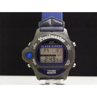 セイコー(SEIKO)のALBA Trailmaster 温度計付き腕時計 W700 ヴィンテージ(腕時計(デジタル))