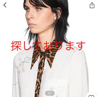 ミュウミュウ(miumiu)のミュウミュウレオパードシャツ(シャツ/ブラウス(長袖/七分))