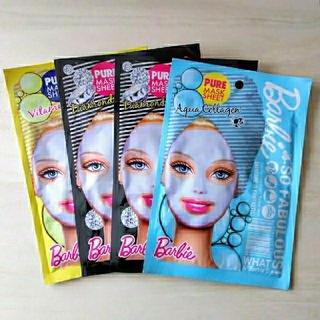 Barbie - 【Barbie】 ピュアマスクシート 4枚セット✨