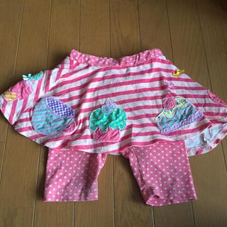 vana vana パンツ付きスカート 100cm