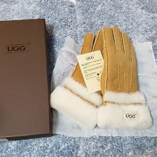 アグ(UGG)の新品未使用 UGGシープスキングローブ chess M(手袋)