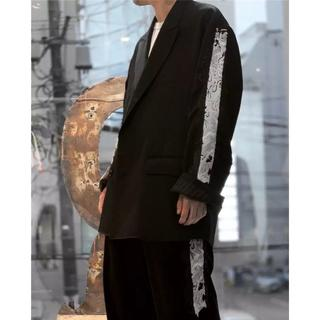 DOUBLET 19AW LINED CHAOS EMBROIDERY JKT