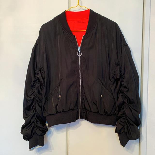 one*way(ワンウェイ)のリバーシブル ブルゾン レディースのジャケット/アウター(ブルゾン)の商品写真