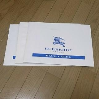 バーバリーブルーレーベル(BURBERRY BLUE LABEL)のBURBERRY ブルーレーベル  袋(ショップ袋)