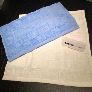 レノマ(RENOMA)のレノマ パリ ハンドタオル 2枚セット(タオル/バス用品)