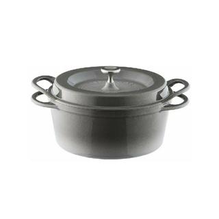 バーミキュラ(Vermicular)のバーミキュラ オーブンポットラウンド 22cm 無水 鍋 専用レシピブック付き(鍋/フライパン)
