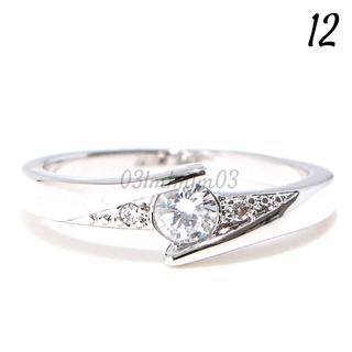 C2 リング 12号 CZ ダイヤモンド シルバー 上品 ギフト(リング(指輪))