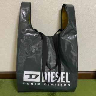 ディーゼル(DIESEL)のDIESEL 非売品 エコバッグ トートバッグ カーキ×イエロー(エコバッグ)