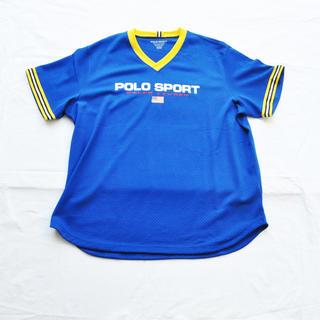 ラルフローレン(Ralph Lauren)のPOLO SPORT/ポロ スポーツ メッシュ半袖ゲームシャツ BIG SIZE(Tシャツ/カットソー(半袖/袖なし))