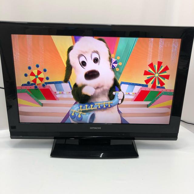 日立(ヒタチ)の日立32型液晶デジタルハイビジョンテレビ 激安! No.4 スマホ/家電/カメラのテレビ/映像機器(テレビ)の商品写真