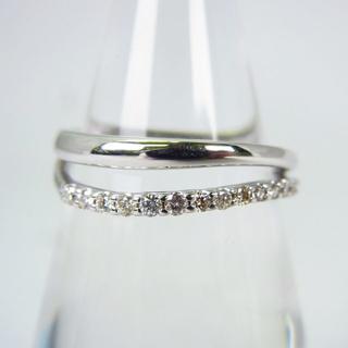 ヴァンドームアオヤマ(Vendome Aoyama)のヴァンドーム K18WG ダイヤモンド リング 9号[g145-8](リング(指輪))